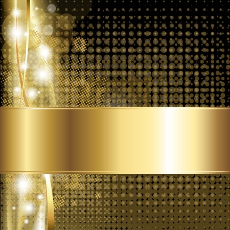 Gold Luxury Background Vector