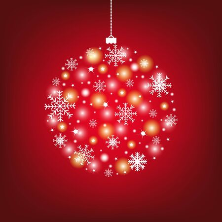 Abstract Christmas Ball, Vector Illustration Stock Vector - 11309013