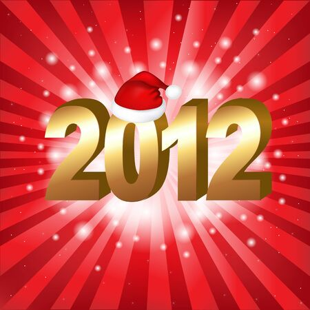 New Year Background, Vector Illustration Stock Vector - 11309015