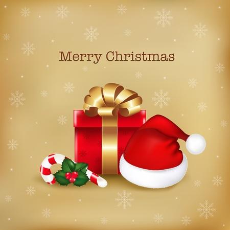 ap: Merry Christmas Illustration, Vector Illustration Illustration