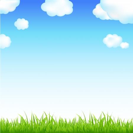 felder: Natur Hintergrund Mit Sunburst und Blumen