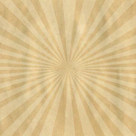 Brown Cardboard Structure With Sunburst Illustration Vector
