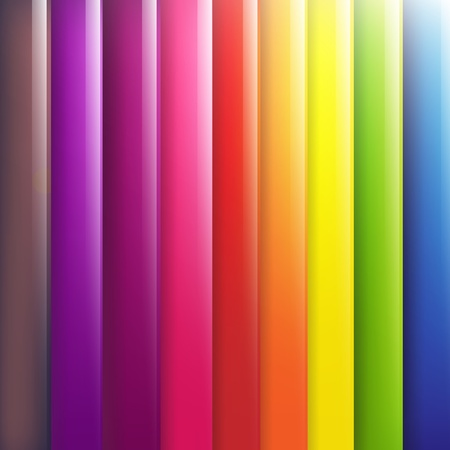 rainbow colours: Abstract Lines Design On Color Background Illustration