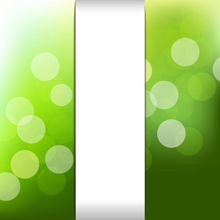 Green Nature Background With Bokeh Illustration Stock Vector - 15069760
