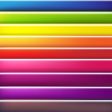 rainbow colors: Abstract Colorful Background With Line, Vector Illustration