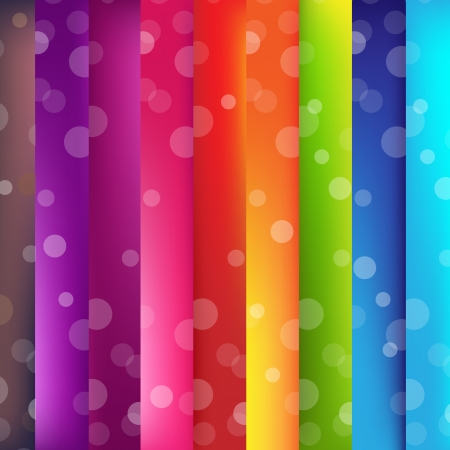 Colorful Background With Bokeh And Line Stock Vector - 15710642