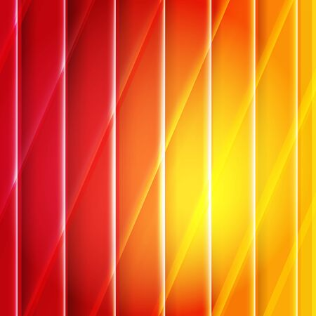 Color Orange And Red Background With Lines, Vector Illustration Stock Vector - 15975370