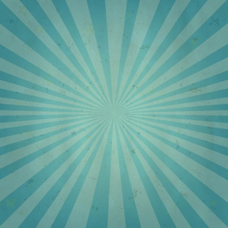 Old Sun Burst Background With Gradient Mesh, Vector Illustration  Vector