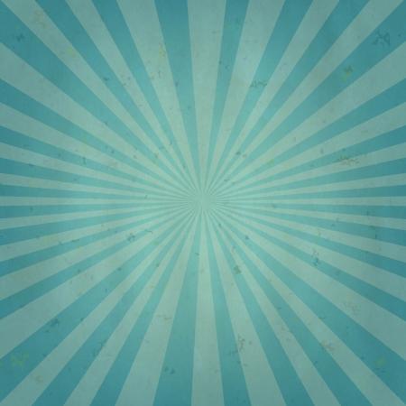 Old Sun Burst Background With Gradient Mesh, Vector Illustration  Illustration