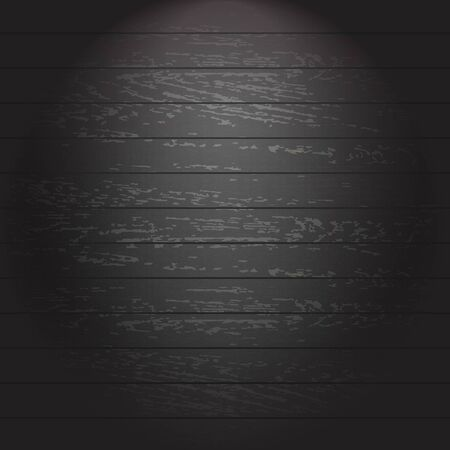 Black Wooden Background, Vector Illustration Stock Vector - 21902846