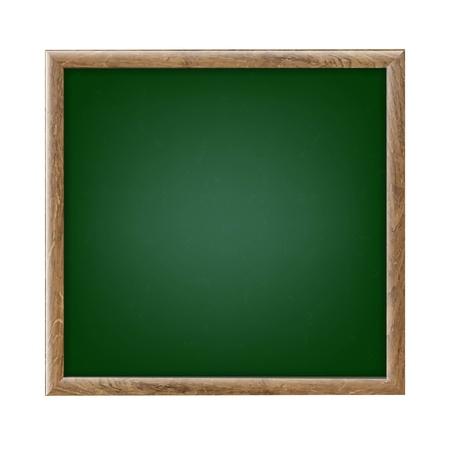 wallboard: Green Chalk Board With Gradient Mesh, Vector Illustration