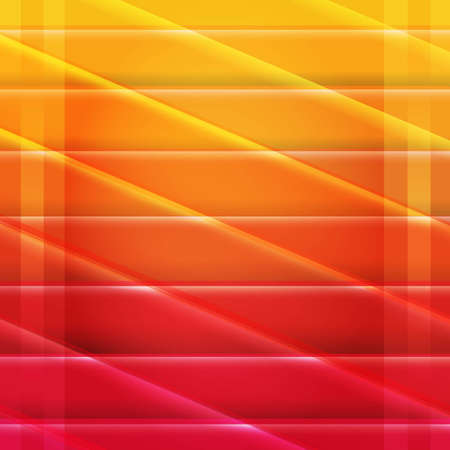 Colorful Red And Orange Poster, With Gradient Mesh Illustration Stock Vector - 22368371