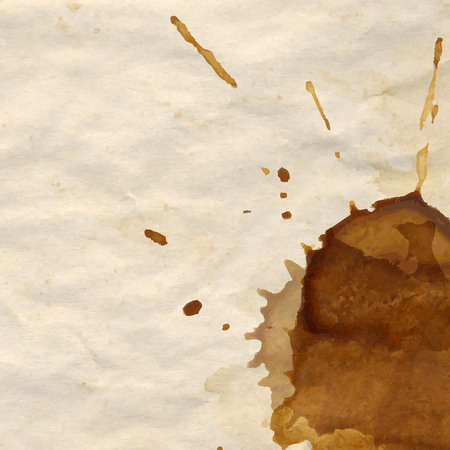 coffee stain: Coffee Stain Illustration