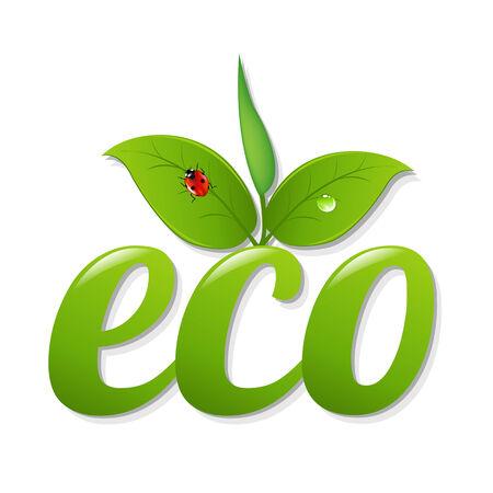 green sign: Bio Verde Segno, con maglia gradiente Illustrazione