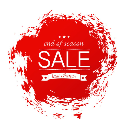 Sale Poster, Vector Illustration Vector