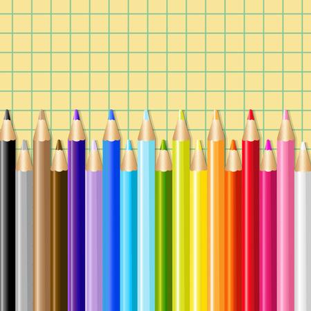 colour pencil: Color Pencils, Illustration Illustration