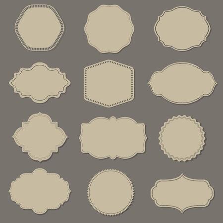Label Big Set, Illustration