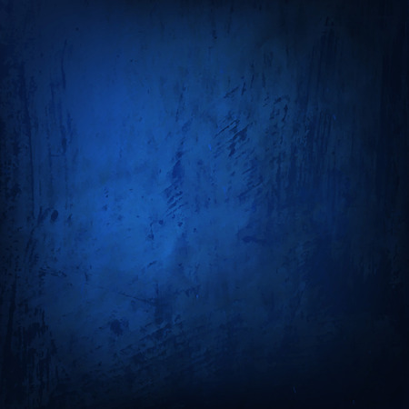 Blue Grunge Texture With Gradient Mesh, Vector Illustration Çizim