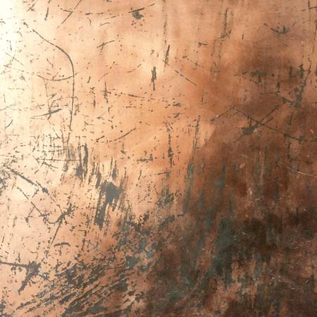 Copper Grunge Background Illustration