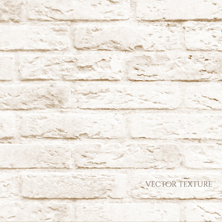 rubble: Brick Wall, Vector Illustration