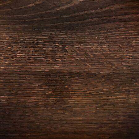 Dark Wooden Texture With Gradient Mesh, Vector Illustration Vector