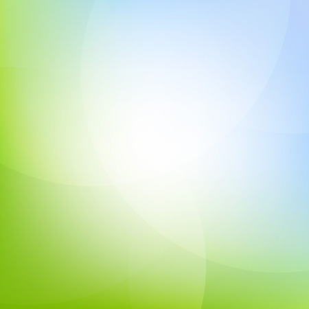 Green And Blue Background With Gradient Mesh, Vector Illustration Illustration