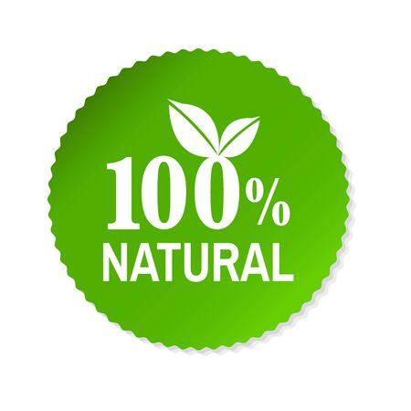 Nature Label, Vector Illustration