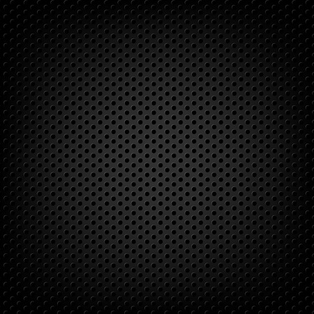 industrial vehicle: Carbon Metallic Background With Gradient Mesh, Vector Illustration
