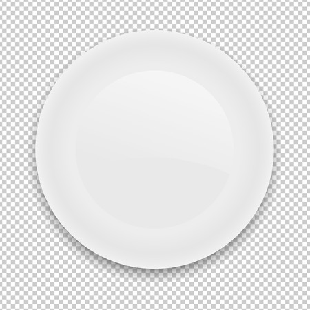 Plate, Vector Illustration
