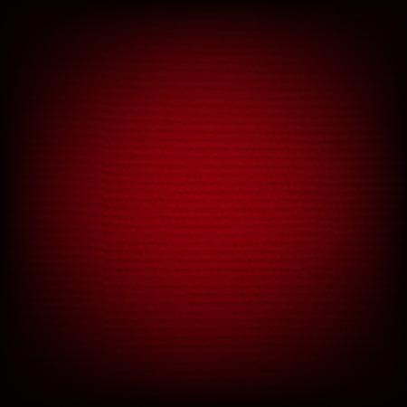 Red Banner  Gradient Mesh