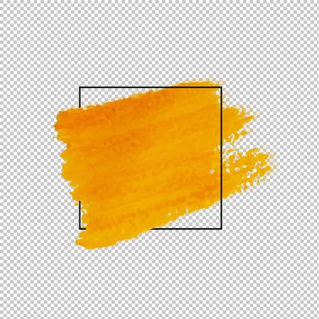 Sale Banner With Blot Transparent Background, Vector Illustration