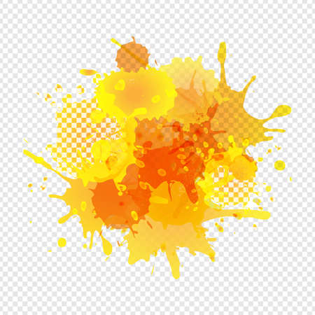 Banners Set With Blobs Isolated Transparent Background, Vector Illustration 版權商用圖片 - 155505921