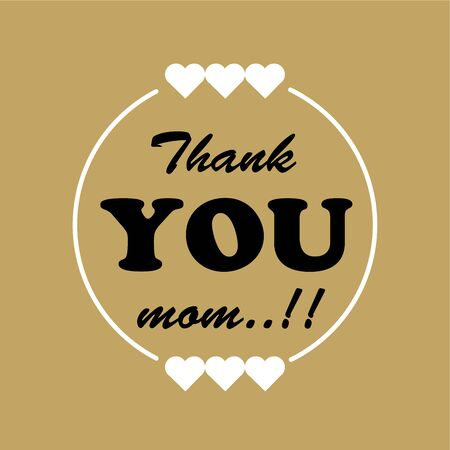 thank you mom card greeting