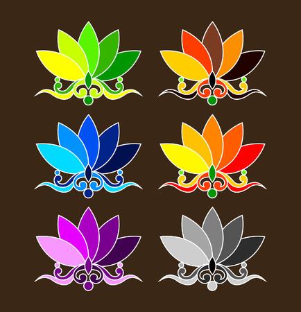 budha: Cute Decorative Vector