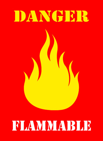 flammable: Flammable symbol