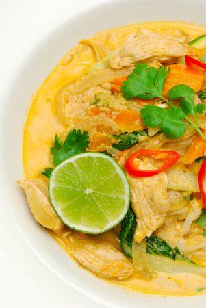 タイ風チキンのカレー
