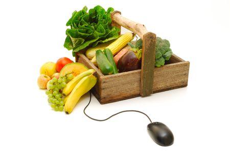 オンライン フルーツや野菜ショッピング