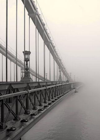 nowhere: Bridge to Nowhere Stock Photo