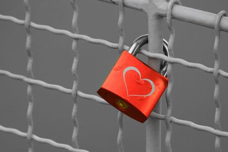 locked: Locked Forever Stock Photo