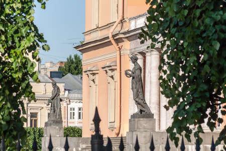 Saint petersburg. Engineering Castle in summer day,Russia