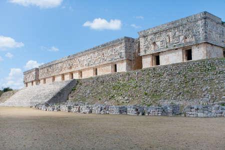 Pyramide buildings of Uxmal, Mexico