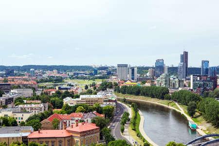 vilnius: Panorama of Vilnius