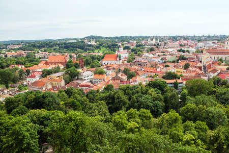 Panorama of Vilnius photo