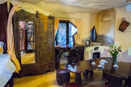 interior room: Hotel room unusual interior