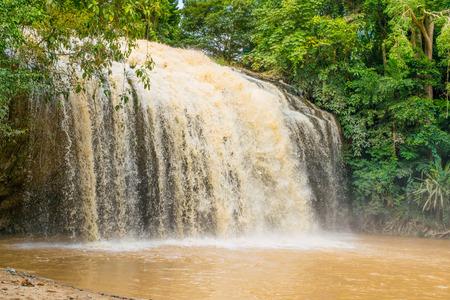 Waterfall Prenn in Dalat, Vietnam Stock Photo