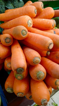 close up view: Close up View of Carrots