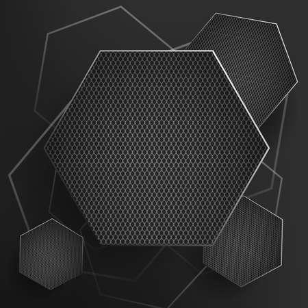 tough: Black iron template steel texture or metal pattern .