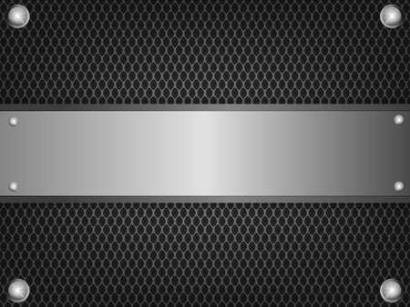 tough: Black iron template steel.