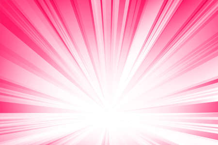 Pink smooth light lines abstract background. Vector illustration. Ilustrace