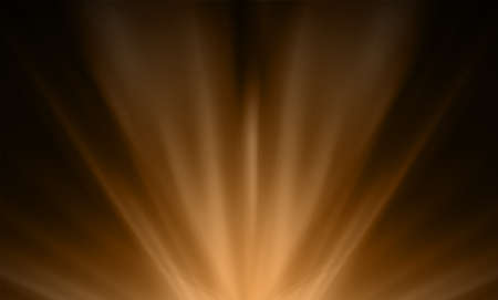Dark brown smooth light lines abstract background. Vector illustration.